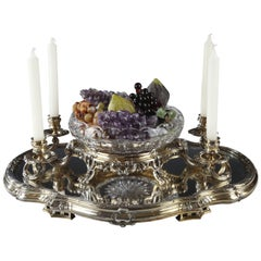 Charming Silver Centerpiece by Boin-Taburet
