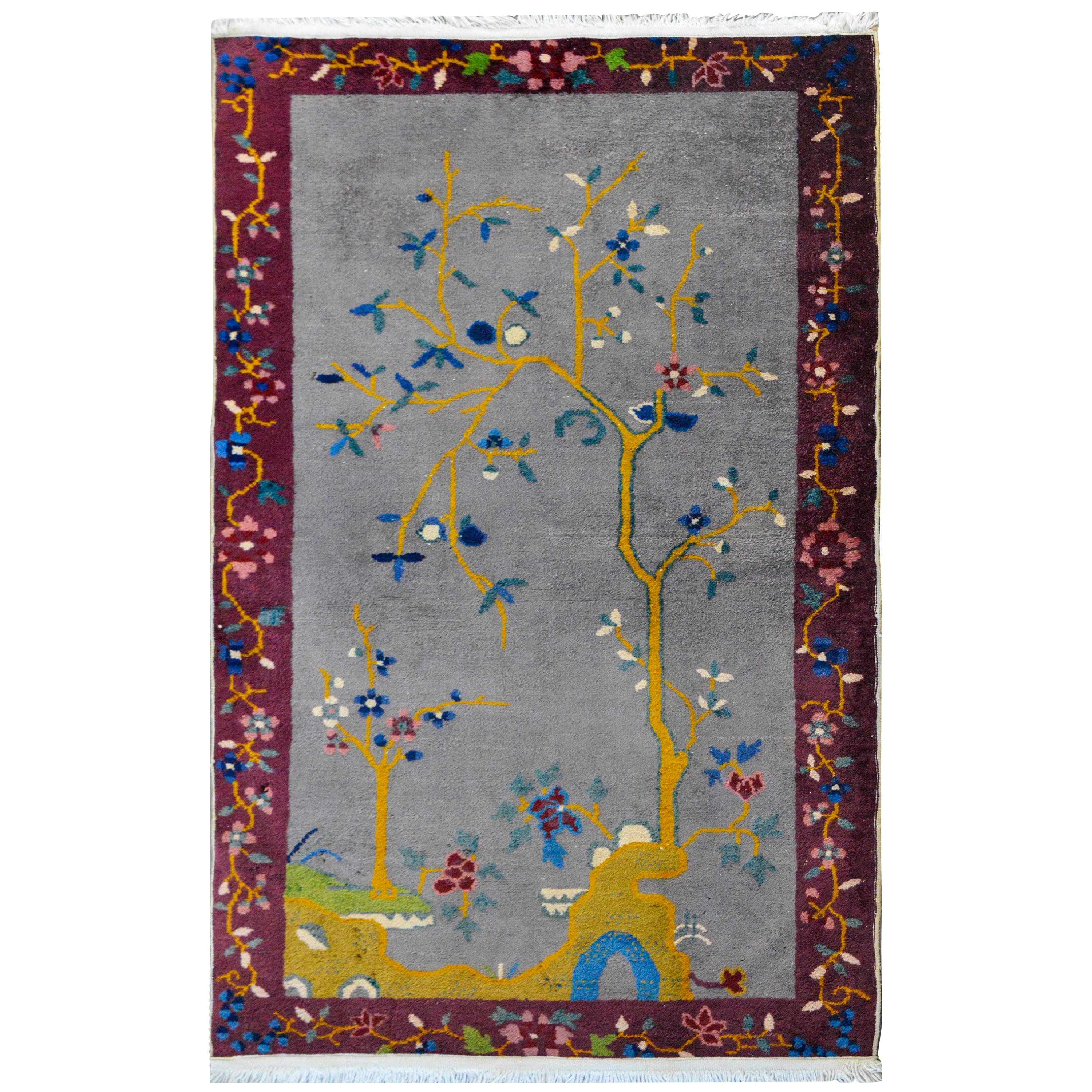 Charming Chinese Art Deco Rug
