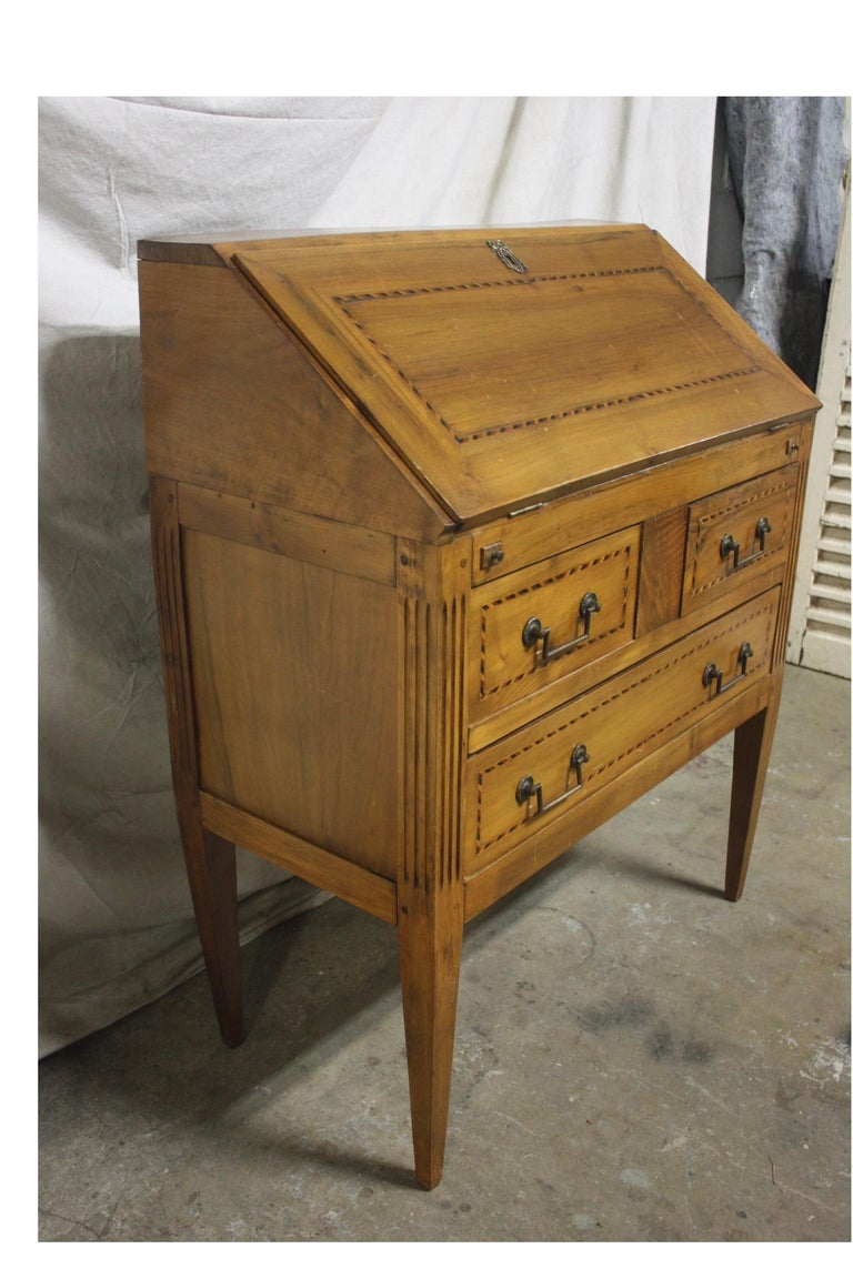 French Charming Early 20th Century Desk Scriban For Sale