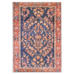 Charming Early 20th Century Sarouk Rug