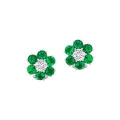 Charming Emerald and Diamond Earring by RayazTakat