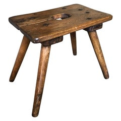 Charming French 19th Century Stool