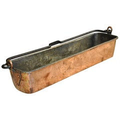 Charming French Copper Fish Pan