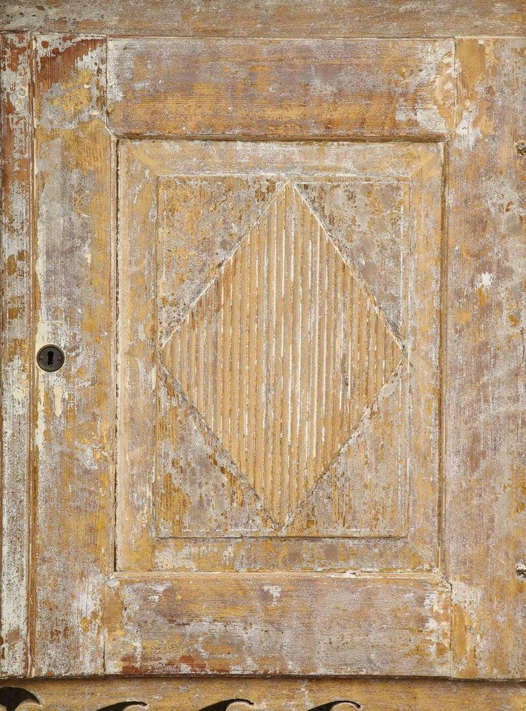 Wood Charming Gustavian Cabinet, circa 1790, Origin Sweden For Sale