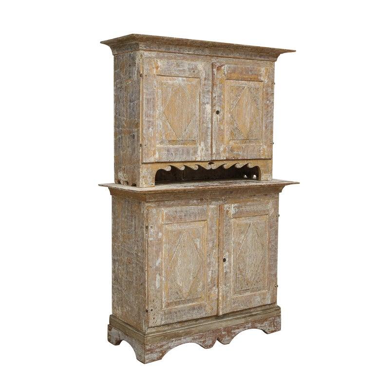 Charming Gustavian Cabinet, circa 1790, Origin Sweden For Sale