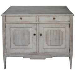 Charming Late Gustavian Sideboard