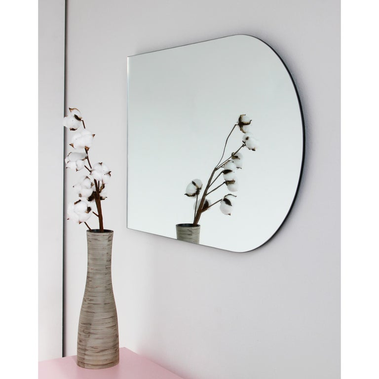 Charming Modern Arcus™ Mirror Frameless - four mirrors in one For Sale 2
