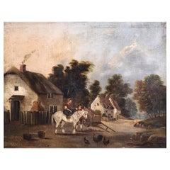 Charming Painting, circa 1840