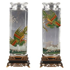 Charming Pair of Vases Baccarat