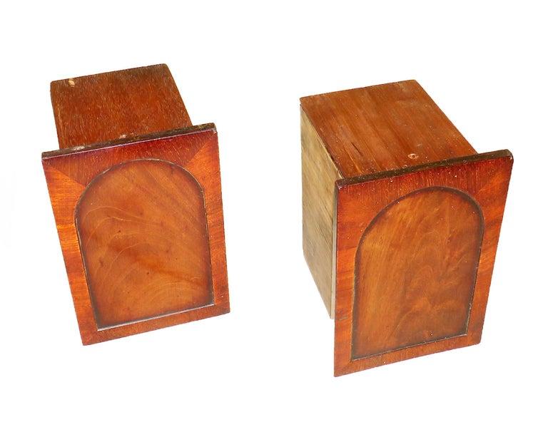 Charming Regency 19th Century Mahogany Tea Caddy Miniature Sideboard For Sale 1