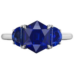 Charming Sapphire Ring by Takat