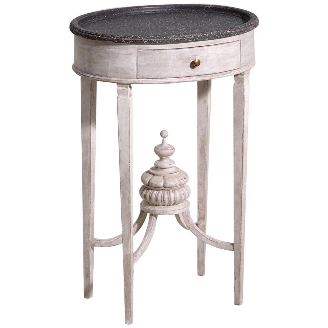 Charming Swedish Table, Late 19th Century