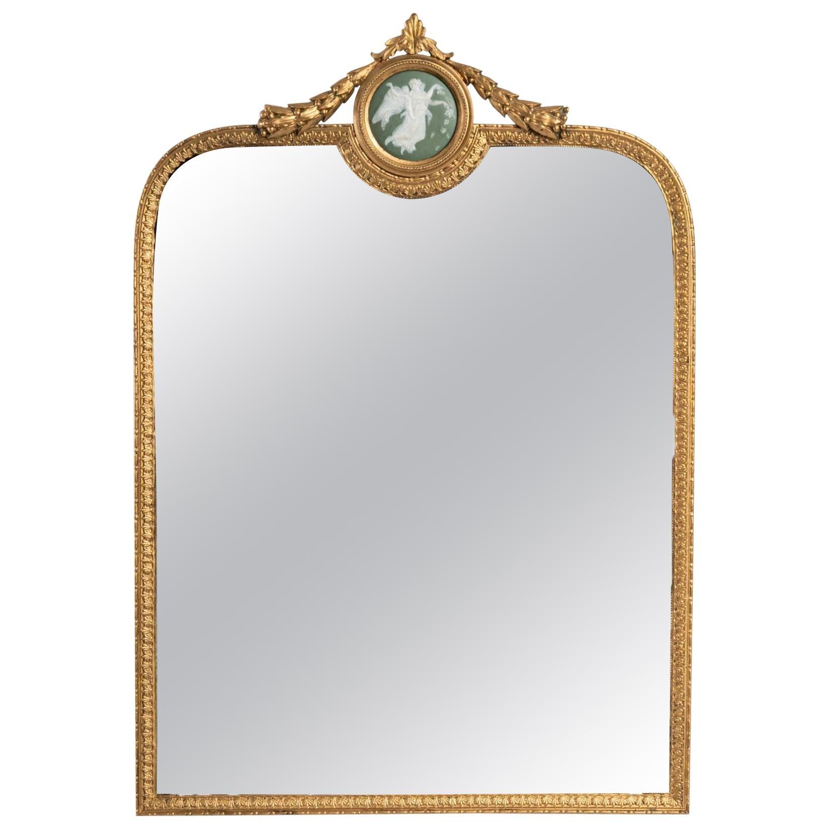 Charming Table Mirror, 19th Century