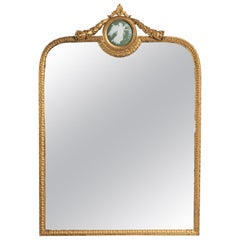 Charming Table Mirror, 19th Century