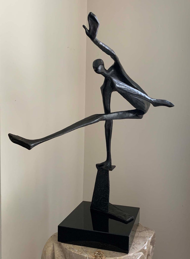 Charna Rickey Abstract Sculpture - The Athlete