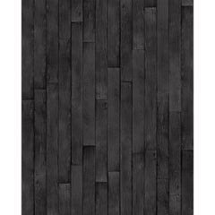 Charred Cedar Wallpaper by Flavor Paper