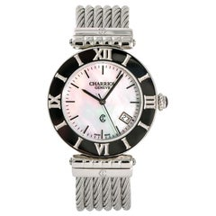 Charriol Alexandre No-ref#, Mother of Pearl Dial, Certified