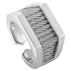 Charriol Forever Stainless Steel Ring