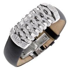 Charriol La Jolla Watch 18 Karat White Gold and Diamonds, Limited Edition No. 45