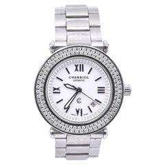 Charriol Ladies Stainless Steel Diamond Wristwatch Ref. CCR30.1N