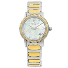 Charriol Parisii 0.40 Carat Diamond Steel MOP Dial Ladies Watch P33SY2D.921.001