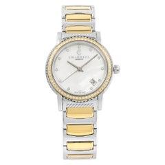 Charriol Parisii Diamond 0.40 Cttw PVD Steel Quartz Ladies Watch P33SY2D.921.001