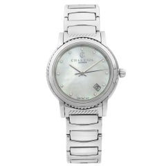 Charriol Parisii Steel Diamond White MOP Dial Quartz Ladies Watch P33S2.920.001