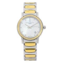 Charriol Parisii Steel Diamond White MOP Dial Quartz Women Watch P33SY2D.921.001