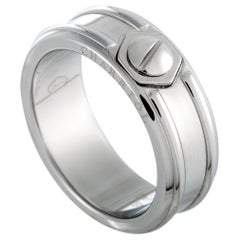 Charriol Rotonde Stainless Steel Band Ring