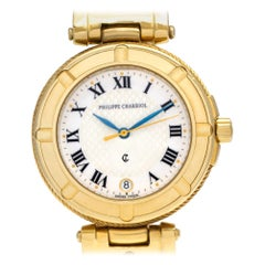 Charriol St Tropez 183, White Dial, Certified and Warranty