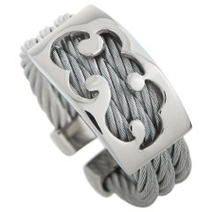 Charriol Tattoo Stainless Steel Ring