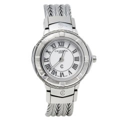 Charriol White Stainless Steel Celtic CE426S.640.007 Women's Wristwatch 27 mm