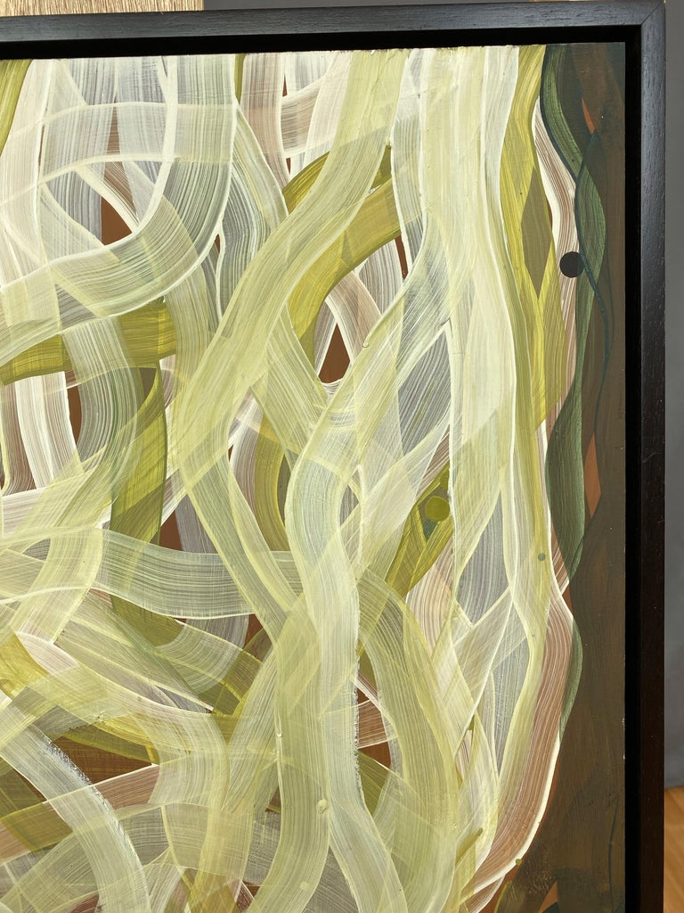 """Wood Chase Langford """"Coldwater 28"""", Abstract Oil Painting, 2006 For Sale"""