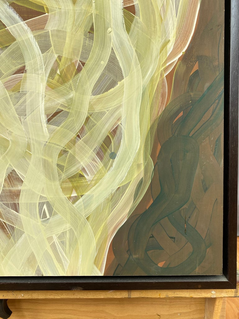 """Chase Langford """"Coldwater 28"""", Abstract Oil Painting, 2006 For Sale 2"""