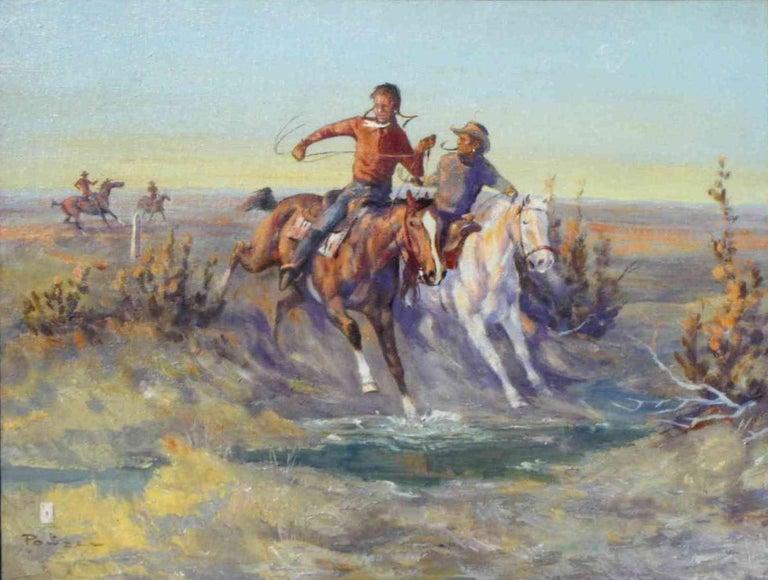 (1912-1978).Oil on canvas; 24