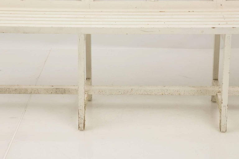 Chatsworth Estate Painted Bench For Sale 4