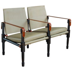Chatwin Lounge Settee - handcrafted by Richard Wrightman Design