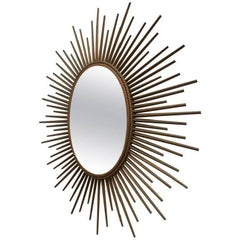 Chaty Vallauris Oval Sunburst Mirror