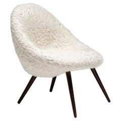 Chauffeuse Chair, France circa 1960