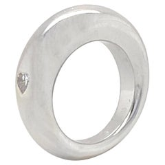 Chaumet .12 Carat Diamond Ring