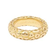 Chaumet 18 Carat Yellow Gold Bangle Ring