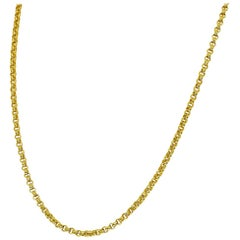 Chaumet 18 Karat Yellow Gold Chain Necklace