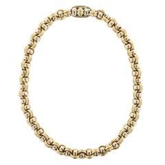 Chaumet 18 Karat Two-Tone Gold Necklace, Paris
