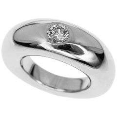 Chaumet Anneau Diamond 18 Karat White Gold Ring