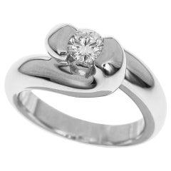 Chaumet Diamant 18 Karat Weißgold Turvan Ring