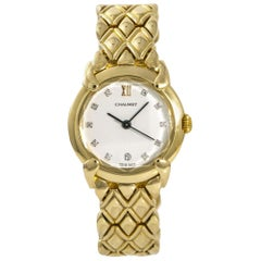 Chaumet Elysees No-Ref#, White Dial, Certified and Warranty