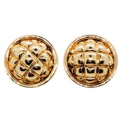 Chaumet Estate Earrings in 18 Karat Yellow Gold