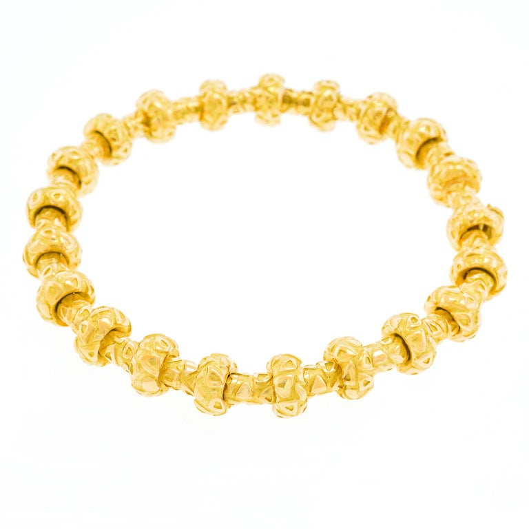 Chaumet Gold Bracelet In Excellent Condition For Sale In Litchfield, CT