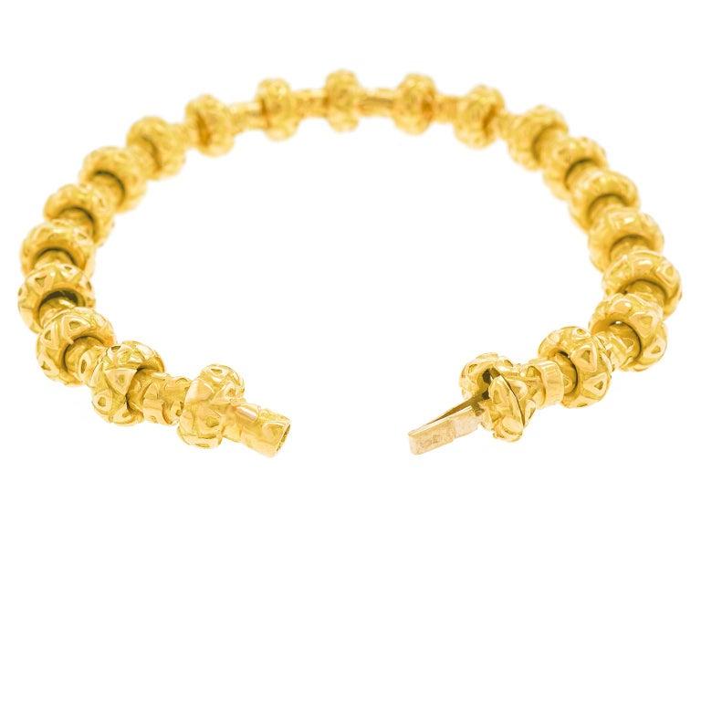 Chaumet Gold Bracelet For Sale 4
