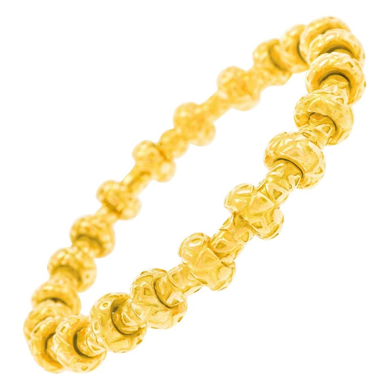 Chaumet Gold Bracelet For Sale